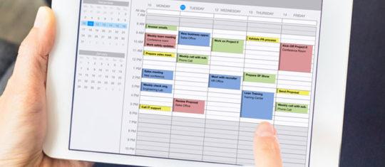 Mettre au point une procédure de contrôle des horaires de travail